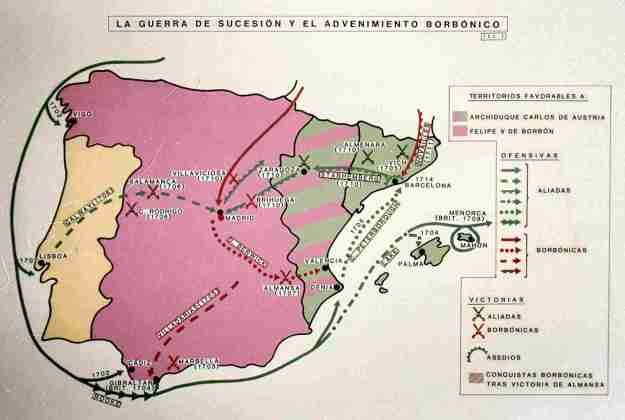 War of Spanish Succession and its consequences for Catalonia 01