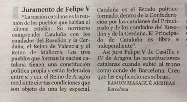 War of Spanish Succession and its consequences for Catalonia