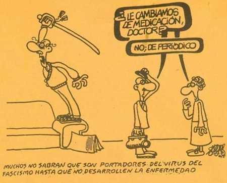 Propaganda subliminal racista española